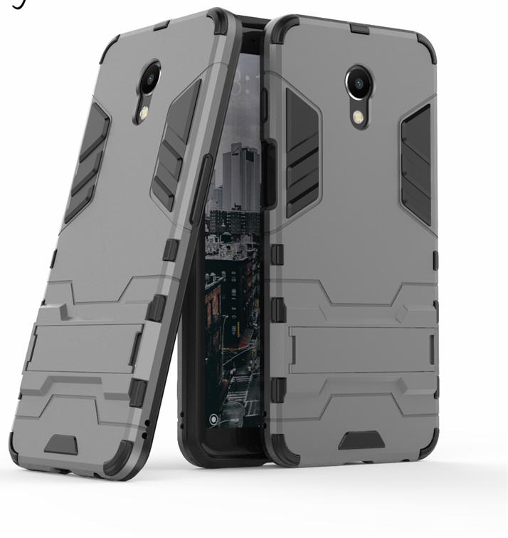 Чехол Бампер Броня для Meizu M6S бампер Gray