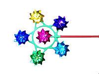 Ветрячок YW0025 (20уп по25шт/2) 6 цв голограмма