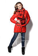 Зимова куртка жіноча X-Woyz! LS-8505, фото 1
