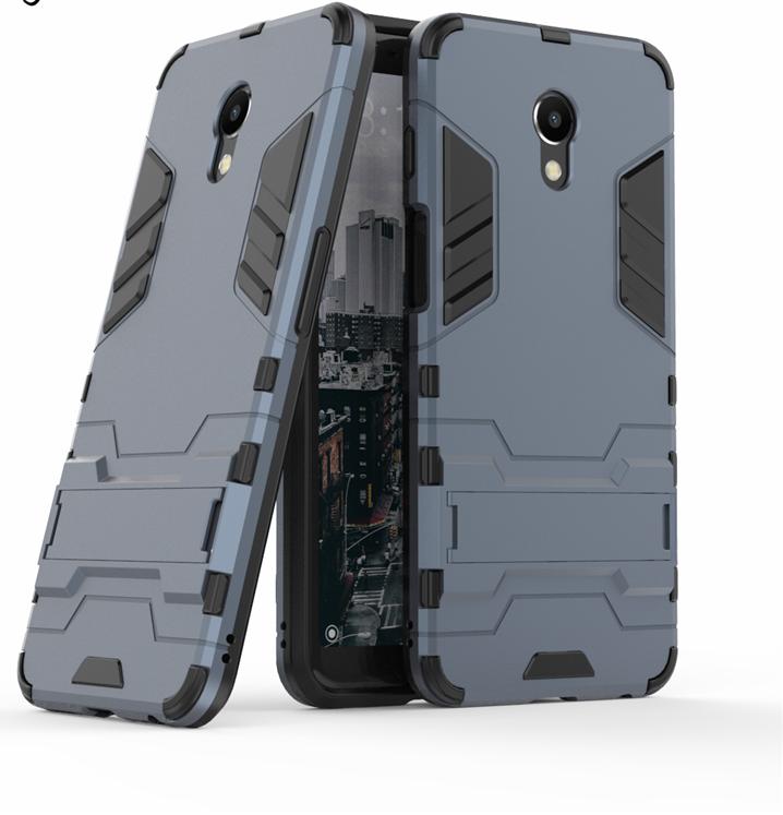 Чехол Бампер Броня для Meizu M6S бампер Darck Blue