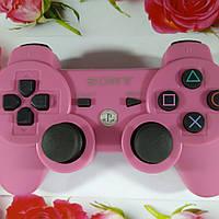 Джойстик Беспроводной SONY PS3 (Розовый), фото 1