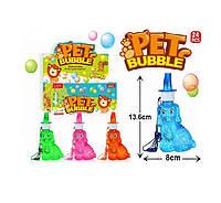 Мыльные пузыри SSP825998 24 штуки щенки, 4 цвета, в боксе