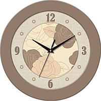Часы настенные с логотипом компании, символикой Fashion (350х350 мм) [МДФ, Пластик, Под стеклом]