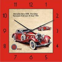 Настенные часы на заказ с логотипом, символикой Glass квадратные (450x450 мм) [Стекло, Открытые]