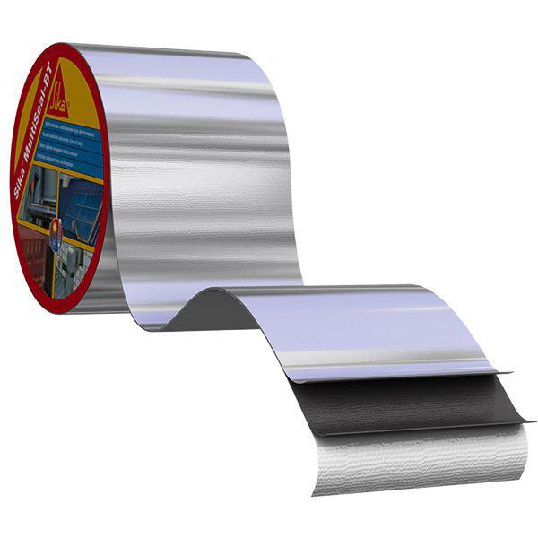 Покрівельно-ущільнювальна самоклеюча стрічка Sika MultiSeal T 10 м х 100 мм