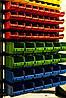 Cтеллажы для метизов с пластиковыми ящиками Комаргород стеллажи для магазина,торговые