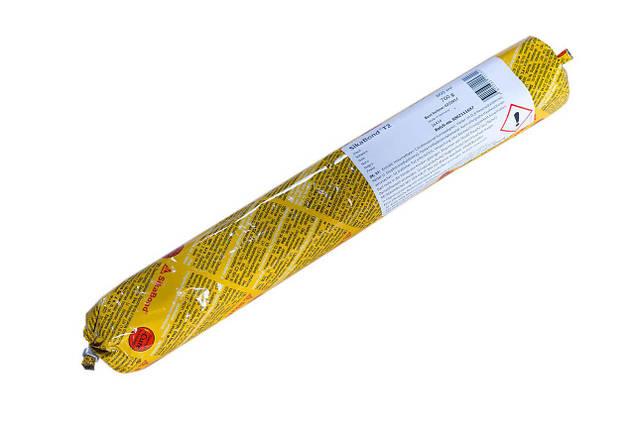 Клей монтажный полиуретановый однокомпонентный Sika Sikabond T2 600 мл, фото 2