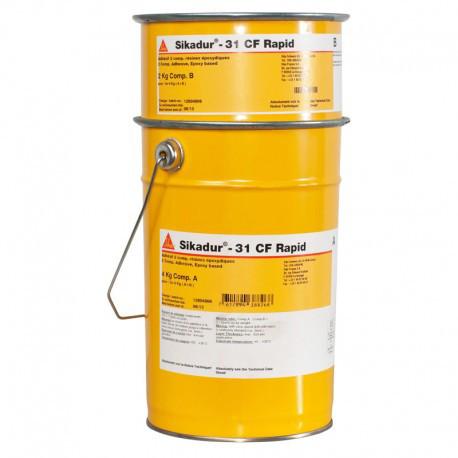 Клей конструкційний двокомпонентний епоксидний Sika Sikadur-31 CF (AB) 6 кг (сірий)