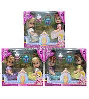 Кукла маленькая A295 3 вида, 2шт, кольцо-кекс, в коробке