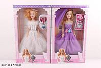Кукла большая F138-A/C/DE 8 видов, в бальном платье, бижутерия, в коробке 46*28*7 см.