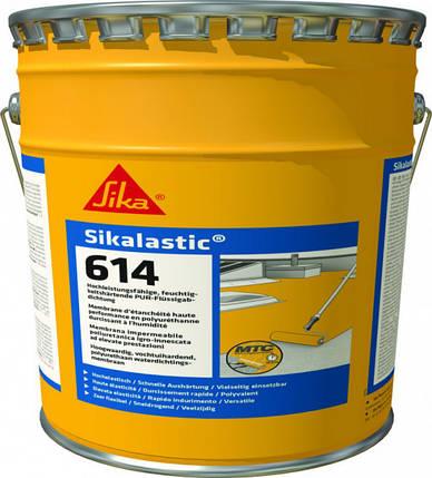 Однокомпонентна поліуретанова рідка гідроізоляційна мембрана Sikalastic-614 9010 15 л., фото 2