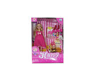 Кукла Барби Беременная 116-36AA 6вид,кроватка,куколка,платья,аксесс,коробке 33*8*22,5 см.