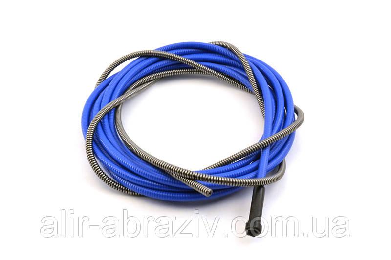 Спіраль синя d-3,0 6,4 L-540мм для дроту д. 2,0-2,4 мм (RF 45, ABIMIG 450V, A 405,455 c KZ)