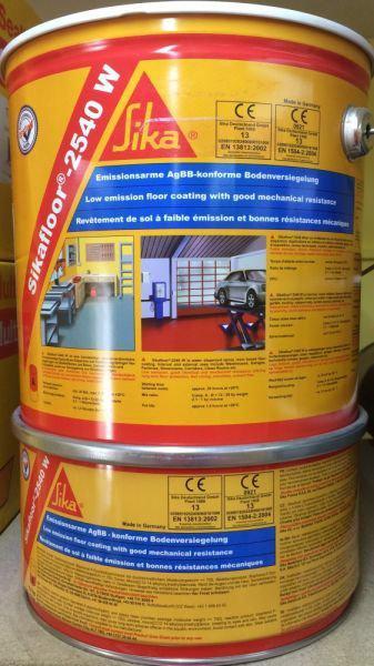Епоксидне покриття на водній основі Sikafloor-2540W (A+B) 18 кг