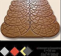 «ТРОПИНКА» тротуарная плитка вибролитьевая (под мрамор)