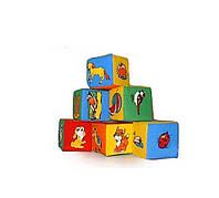 Набор кубиков. 6 Животный мир/42