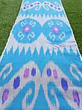 """Хлопковая ткань в технике """"Икат"""" ручного ткачества. Маргилан, Узбекистан, фото 2"""