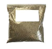 Глиттер Блестки Светлое золото (Золотой, золотые) для декора 1 кг/уп
