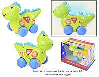 музыкальная игрушка детская дракоша 6105 батарейки , музыкальная игрушка детская в коробке 28*21*18 см.