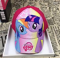 Кепка My Little Pony для девочки. 52-54 см, фото 1