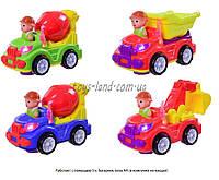 музыкальная игрушка детская машинка ZY6601A/02A/03A (T29-D820-1-2) батар,  свет,   звук,   в коробке  25*17,5*15 см.