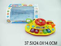 музыкальная игрушка детская Руль XD-2013 (1034489) батарейки , звук, свет, музыкальная игрушка детская ,в коробке 37,5*24*14 см.