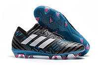 Футбольные бутсы adidas Nemeziz 17.1 FG Grey/White/Core Black, фото 1
