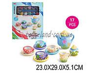 Набор для рукоделия 555-DIY003 (1544357) росп чайного серв, крас,кисти, в коробке  23*29*5,1 см.