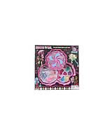 Косметика детская  Monster High MY30088-C67  тени, румяна, помада, лак, кисточка, в коробке 23*23*4 см.