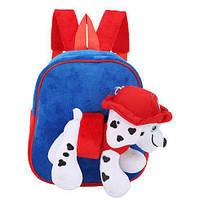 Сумка-рюкзак Рp CLG17011  6 видов, с мягкой игрушкой, в пакете 30*24*9  см.