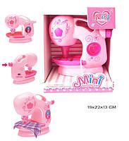 Швейная игрушечная машина 738 свет-звук в коробке 19*22*13 см.