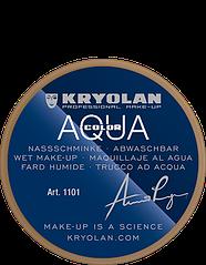 Коричневый компактный аквагрим AQUACOLOR 8мл(оттенок G 190)