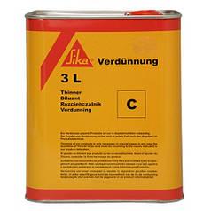 Розчинник і очищувач Sika Verduennung C 25 л.