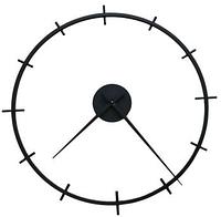 Часы настенные в стиле лофт B&B-09 (70 см) [Металл, Открытые]