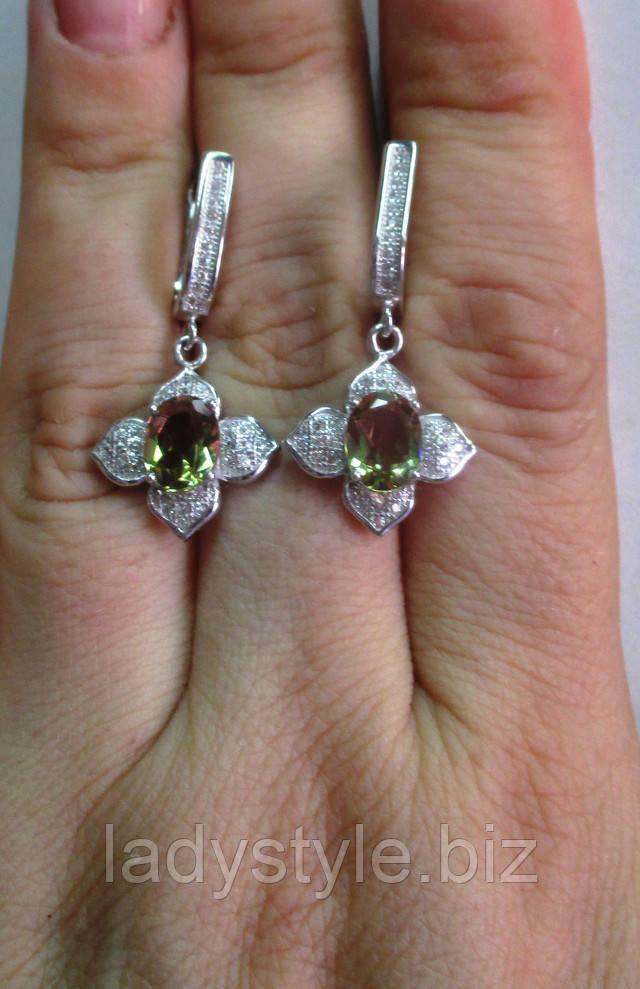 купить кольцо перстень желтый сапфир морганит украшения серебро