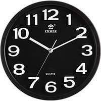 Оригинальные настенные часы POWER PW916BKS