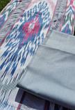 Хлопковая однотонная ткань ручного ткачества. Маргилан, Узбекистан, фото 2