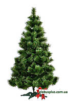 Сосна искусственная натурально - зеленая 1,8 м. стандарт плюс., фото 1
