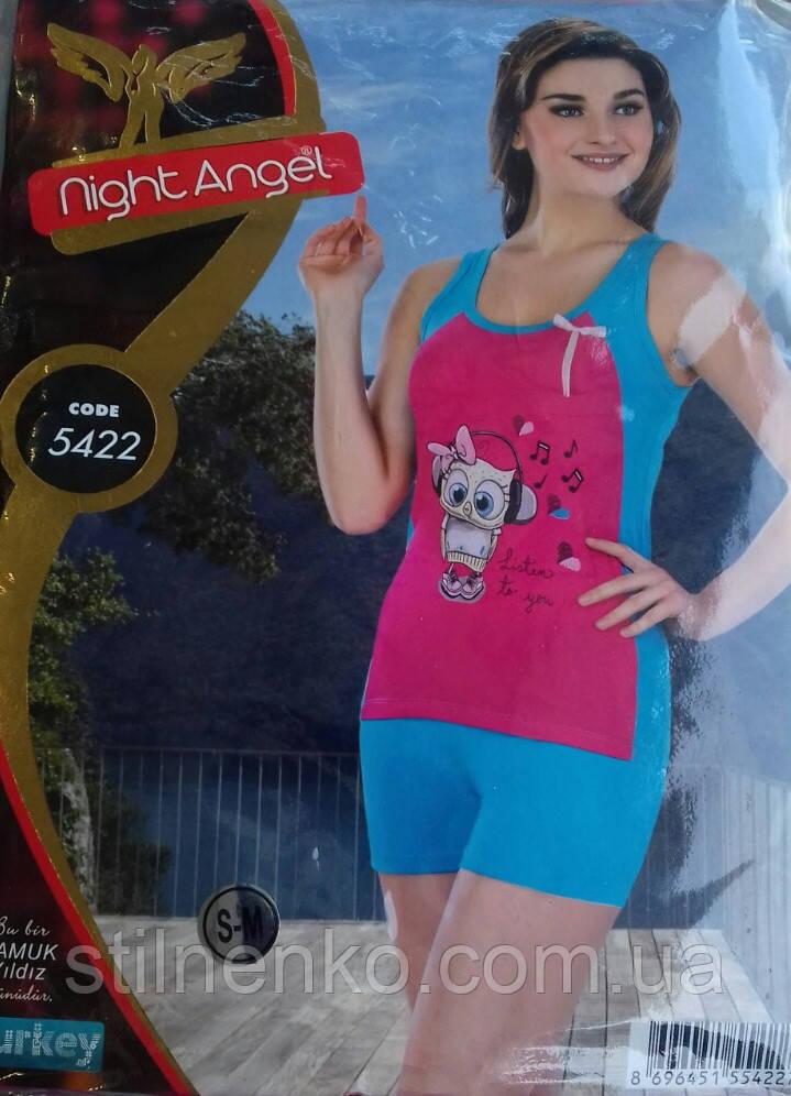 """Пижама женская """"Night Angel"""" Турция"""