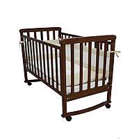 Детская кроватка Соня ЛД 12 Орех Верес (12.03)