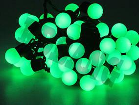 Гирлянда Шарики 50 LED зелёный 5 метров