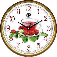 Часы кухонные настенные 300Х300Х45мм [Пластик, Под стеклом] UTA-01-G-69