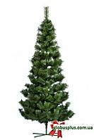 Сосна искусственная натурально - зеленая 2,5 м. высокая., фото 1