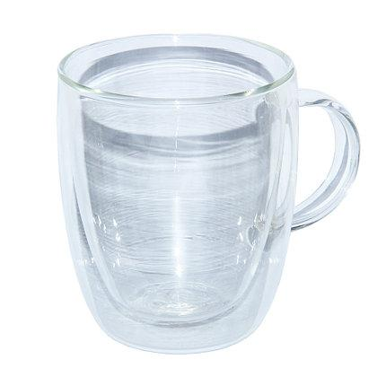 Кружка двойное стекло Биг-Бен 400 мл ( чашка )