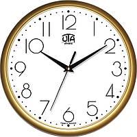 Офисные настенные часы 300Х300Х45мм [Пластик, Под стеклом] UTA-01-G-75