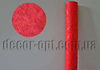 Материал флористический Vipolimex Завитки красные 0.5м/5ярд
