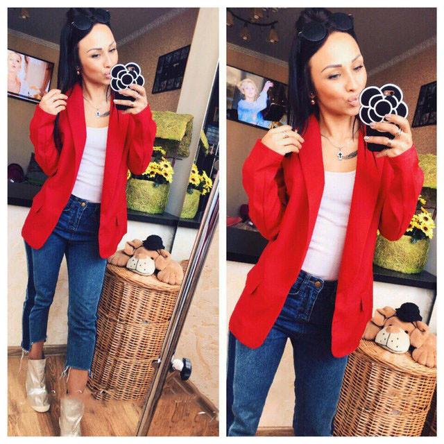 Стильный женский пиджак (К16020)