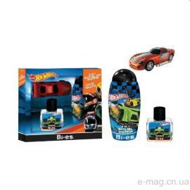 Набор Bi-Es Hot Wheels edt 50ml + Bath Gel & Shampoo 250ml + Car