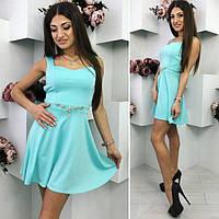 Платье женское короткое летнее «Нежность» (К16481), фото 1