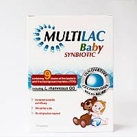 Multilac baby симбиотик (пробиотик+пребиотик) для детей с 4-х месяцев